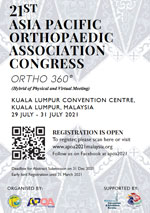 21st Asia Pacific Orthopaedic Association Congress