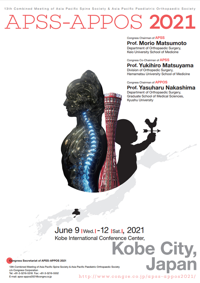 13th Combined Meeting of APSS & APPOS - Kobe, Japan in 2021