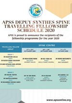 APSS DePuy Synthes Traveling Fellowship