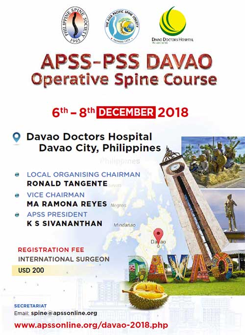 Apss Davao Spine Operative Course