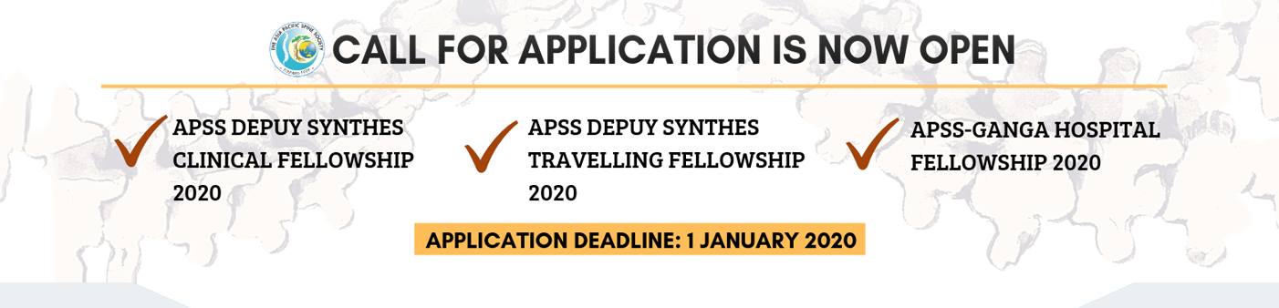 Call for Application 2020