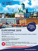 EUROSPINE 2019 will take place in Helsinki, Finland