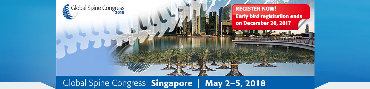 Global spine congress singapore large