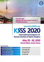 The International Congress of Korean Society of Spine Surgery