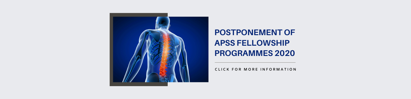 Postponement of APSS Fellowship Programmes