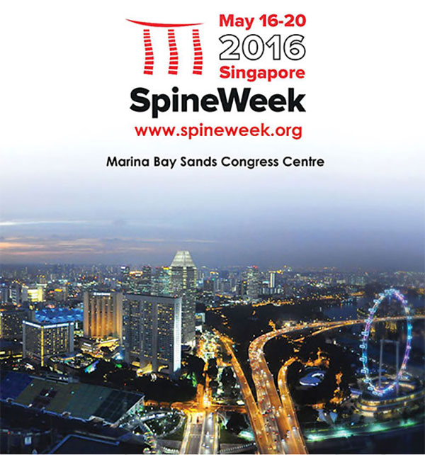 Spineweek 2016 flyer