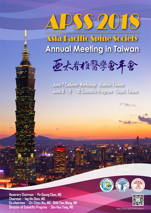 APSS 2018 Annual Meeting – Taiwan