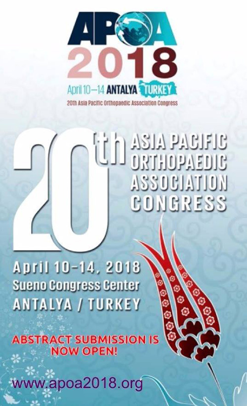 20th APOA Congress – Antalya, Turkey 2018